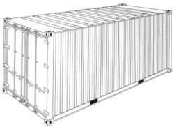 Konteiner Dry Cargo