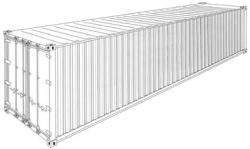 Konteiner Dry Cargo HC 40