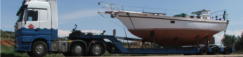 Veneen Kuljetus Kuorma-Autolla
