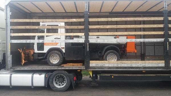 sõidukite transport